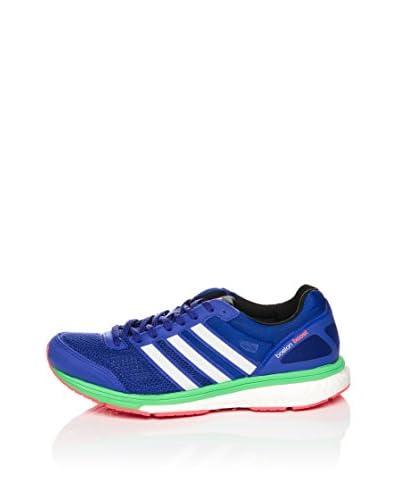 adidas Sneaker Adizero Boston 5 W [Blu/Verde]