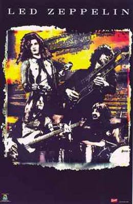Art Poster Print Led Zeppelin Montage