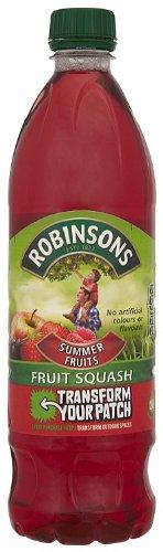 Robinsons Summer Fruits Fruit Squash Bottle 1 L (Pack of 12)
