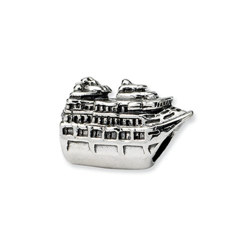 Cruise Ship Charm In Sterling Silver For Pandora Kera And