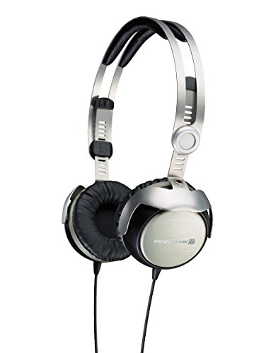Beyerdynamic T51i Portable Headphones, Silver/Black