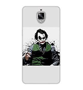 Happoz Oneplus 3 Cases Back Cover Mobile Pouches Shell Hard Plastic Graphic Armour Premium Printed Designer Cartoon Girl 3D Funky Fancy Slim Graffiti Imported Cute Colurful Stylish Boys D087