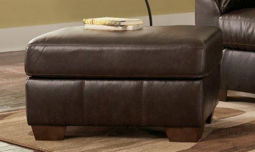 Ottoman By Ashley   Cafe Leather Blend (9880014)