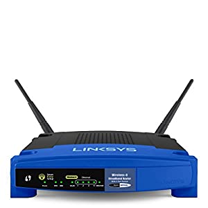 Linksys WRT54GL Wi-Fi Wireless-G Broadband Router by Linksys