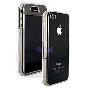 Transparent Crystal Clear Case For Apple iPhone 4 / iPhone 4G 4th Generation 16gb 32gb