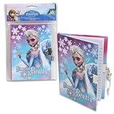 Disney Frozen Powerful Beauty Elsa Diary with Lock