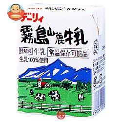 南日本酪農協同(株) デーリィ 霧島山麓牛乳200ml紙パック×24本入