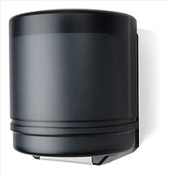 E-Z Taping System TD0255-02 Self-Adjusting Center pull Towel Dispenser in Black Translucent