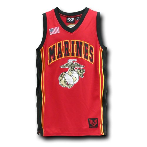 Rapid Dominance US MARINES Military Basketball Jersey