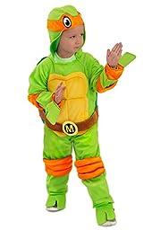 Princess Paradise Baby Boys Tmnt Michelangelo Jumpsuit, Green, 18 Months/2T