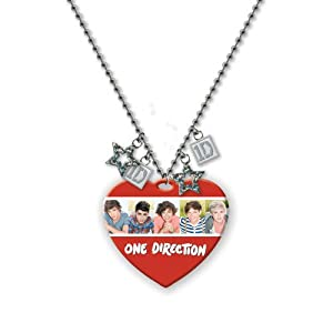 One Direction 16 Tag Necklace - White Group Official 1d Merchandise from Global