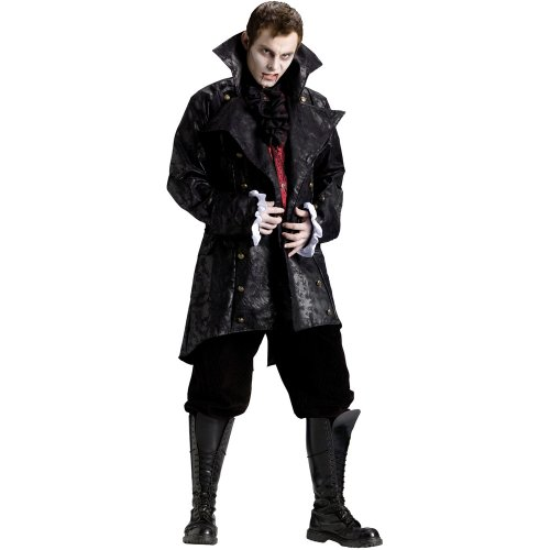 Fun World Mens Vampire Jacket Adult Costume