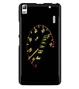 PrintDhaba Ferrari Meter D-4691 Back Case Cover for LENOVO K3 NOTE (Multi-Coloured)