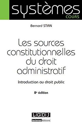Dissertation Source Du Droit Administratif