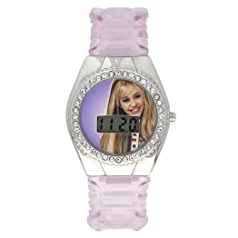 Girls' Disney Hannah Montana Watch - Purple