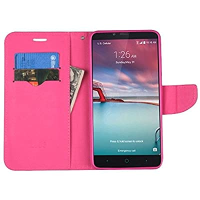MyBat Wallet Case for ZTE Z988 , ZTE Z962G , ZTE Zmax Pro, ZTE Z963U , ZTE Grand X Max 2 by Valor Communication LLC