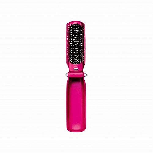 nobrand コイズミ 音波磁気振動ヘアブラシ 美容 ピンク