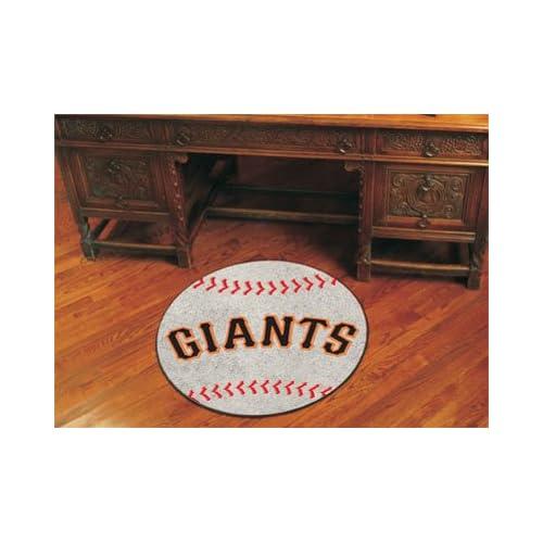 MLB   San Francisco Giants San Francisco Giants   Baseball Mat