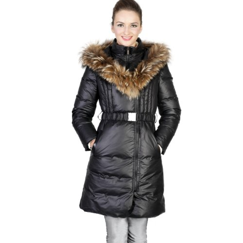 Down filled coats for ladies
