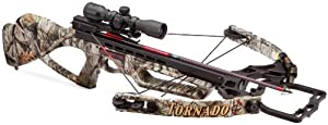 Parker Tornado HP 165 Crossbow with Pin Point Illuminated Reticle Red / Green Scope
