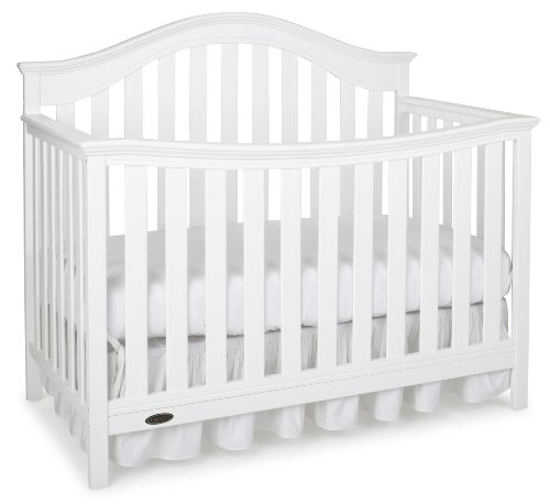 Graco Albany Convertible Crib, Classic White