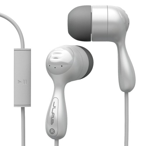 Jlab Jbuds Hi-Fi Noise-Reducing Ear Buds With Universal Microphone (White)
