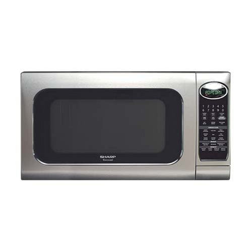 Sharp R-520KS 2-Cubic-Foot 1200-Watt Microwave Oven, Stainless Steel