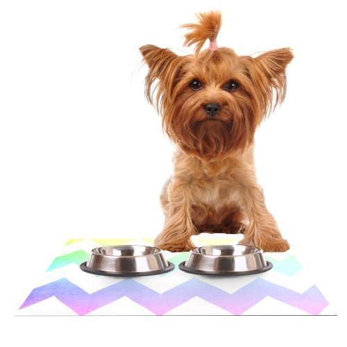 kess-inhouse-catherine-mcdonald-water-color-chevron-feeding-mat-for-pet-bowl-18-by-13-inch-by-kess-i