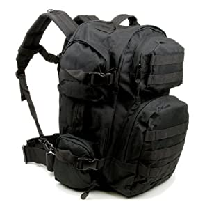 Rebel Tactical Assault 3 Day Pack - Tactical Military MOLLE Backpack, Rucksack