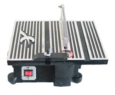 4 Mini Table Saw Hobby Crafts 4500rpm W 2 Blades Dremel Mini Saw