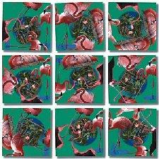 Cheap B Dazzle Flamingos Scramble Squares (B000BX5BUA)
