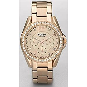 Fossil Quartz Rosegold Gem Dial Rosegold Band - Women's Watch ES2811
