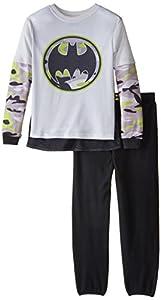 SGI Apparel Little Boys' Batman 2 Piece Pajamas at Gotham City Store