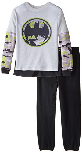 SGI Apparel Little Boys' Batman 2 Piece Pajamas at Gotham City Store
