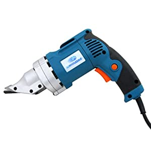 Electric Portable Variable Speed Metal Shear Snips Cutting Swivel Head 2 Finger Trigger by Grace Marketing- HI
