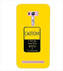 PrintDhaba QUOTE D-6992 Back Case Cover for ASUS ZENFONE SELFIE ZD551KL (Multi-Coloured)