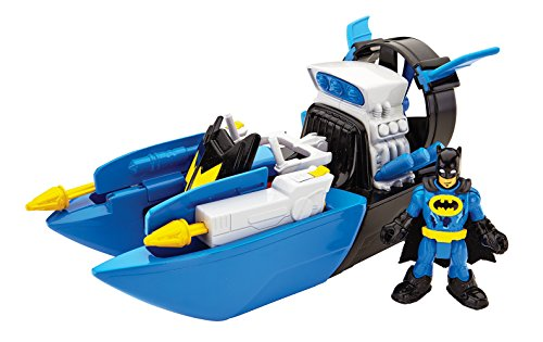 Imaginext - Batbarco, vehículos de Batman Fisher-Price (Mattel CHH83)
