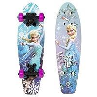 "Disney Frozen Elsa Girls 21"" Wood Cruiser Skateboard by Bravo Sports"