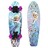 Disney Frozen Elsa Girls 21 Wood Cruiser Skateboard
