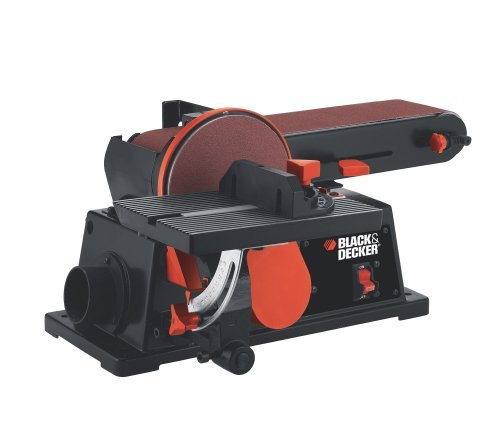 Black & Decker BDSA100 4-Inch Belt/6-Inch Disc Sander