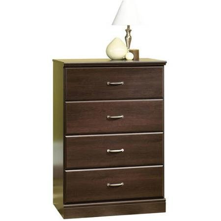 Parklane Collection 4-Drawer Chest Contemporary Style Cinnamon Cherry