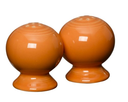 Fiesta 2-1/4-Inch Salt and Pepper Set, Tangerine