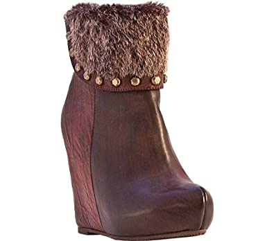Dolce by Mojo Moxy Womens Caboodle Ankle Boot Brown Size 9M NEW!