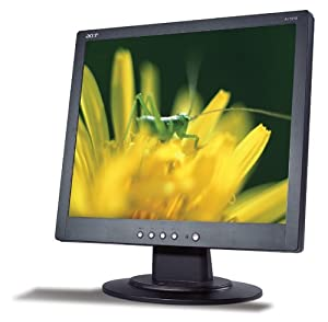 Acer AL1914B 19-inch LCD Monitor 1280x1024 Resolution 8ms Response Time Black