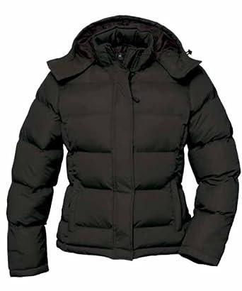 B&C ANORAK COCOON WOMEN doudoune hiver parka noir 454
