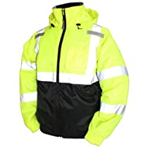 Tingley Rubber J26112 Bomber II Jacket, Medium, Lime Green