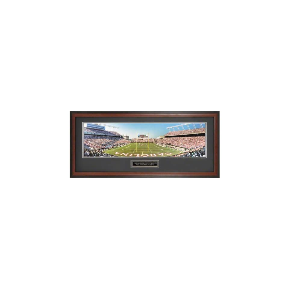 South Carolina Gamecocks   End Zone of Williams Brice Stadium   Framed Unsigned Panoramic Photograph