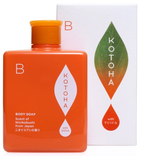 KOTOHA with yuica 日本の森のアロマソープ ニオイコブシの香り 300ml