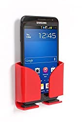 Riona Universal Acrylic Car Mobile Holder / Stand - MobiHold A6L Red MH-A6L-R