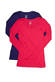 2 Pack Active Basic Women's Plus Size…